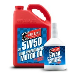 Red Line SAE 5W50 Fully-synthetic Motor Oil