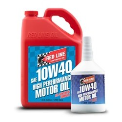 Red Line SAE 10W40 Fully-synthetic Motor Oil
