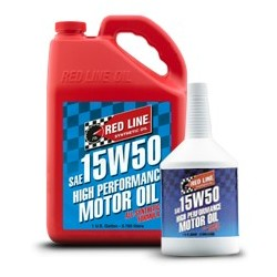 Red Line SAE 15W50 Fully-synthetic Motor Oil