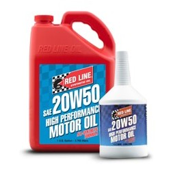 Red Line SAE 20W50 Fully-synthetic Motor Oil
