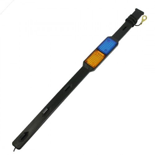 Car Anti Static Earth Belt with Orange Blue Reflector