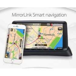 Smart Airplay mirrorlink with Phone Dash Camera DVR WIFI Parking GPS Navigation