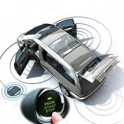 Smart Key Car Alarm System Installation