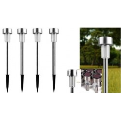 Outdoor Solar Stainless-Steel LED Garden Light