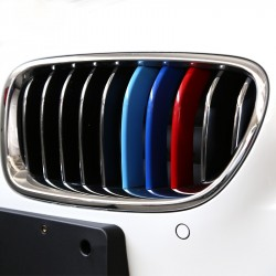 3D Car Grille Sport Stripe ABS Decal Sticker for BMW
