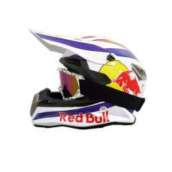 ATV Motocross Racing Helmet with goggle.
