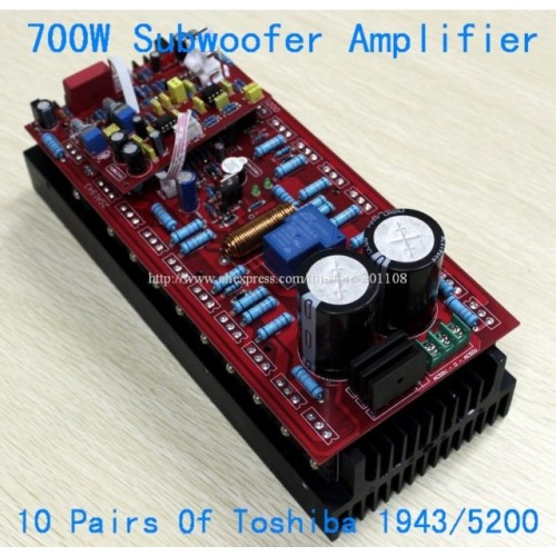 HIFI 700W Subwoofer Mono Amplifier Board