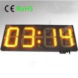 Outdoor LED temperature and humidity display