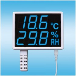 Highlight LED USB temperature and humidity loggers hygrometer displays