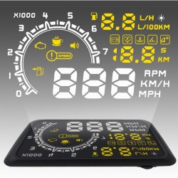 5.5 inches OBD II Head Up Display Unit
