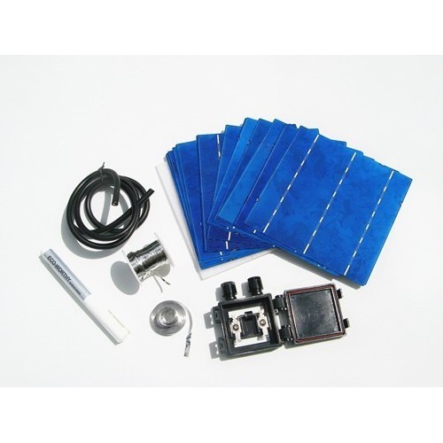40pcs 17.6% efficiency 6x6 3.6w DIY solar panel