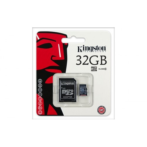Kingston Micro SD + Adapter