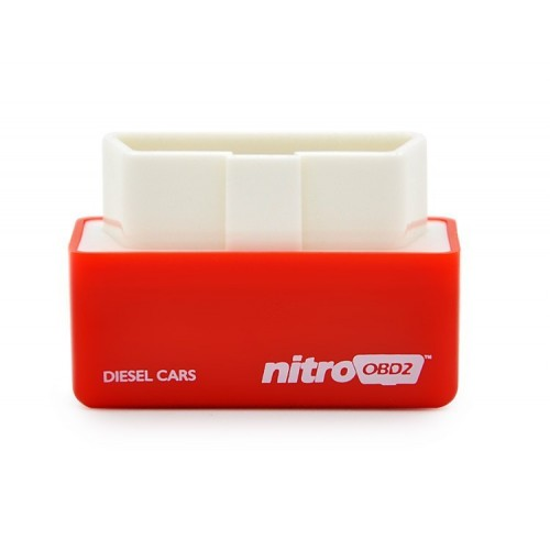 Nitro OBD2 Plug and Drive Performance Chip Tuning Box for Diesel Cars