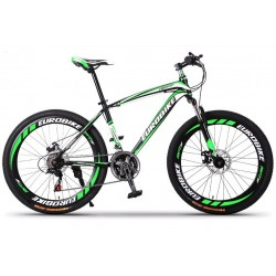 Euro Bike Mountain Bike 21/27 Speed 26 Inch Wheel