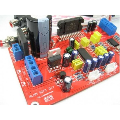 DIY Intregarted Amplifier Board Kit with TDA7388 41Wx4 channels
