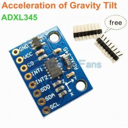 GY-291 ADXL345 3-Axis Digital Gravity Sensor Acceleration Module Tilt sensor For Arduino