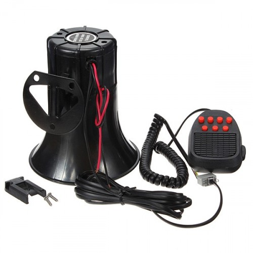 7 Tone Car Siren 12V 100W 150dB.