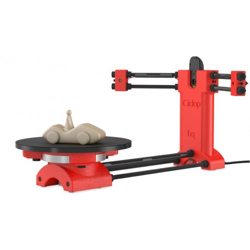 Reprap 3d Open source DIY BQ Ciclop 3d scanner kit for 3d printer