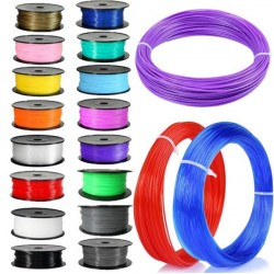 3D Printer Filament 10M 20M 1KG 1.7mm 3mm PLA ABS