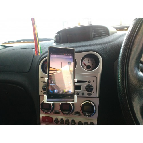 Car CD Slot Mobile Phone Holder for Samsung Galaxy S5