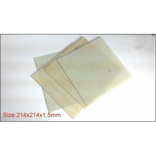 FR4 epoxy boards porous for ABS filament printing