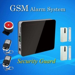 Wireless GSM Alarm System 433MHz