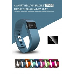 Fitness Tracker Bluetooth Bracelet for Smartphone