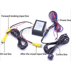 Front and Rear View Car Camera Controller Box