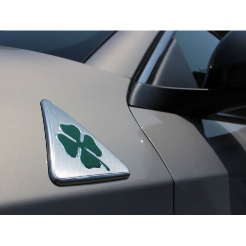 Green Cloverleaf Wing Badges