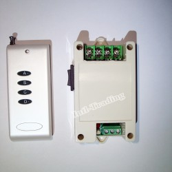 Motor Controller Forward and Reverse Rotation With Remote Control.