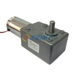 DC12V 10RPM High-torque Worm Reducer Geared Motor
