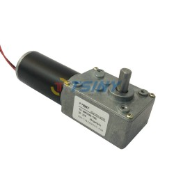 DC12V 16RPM High-torque Worm Reducer Geared Motor