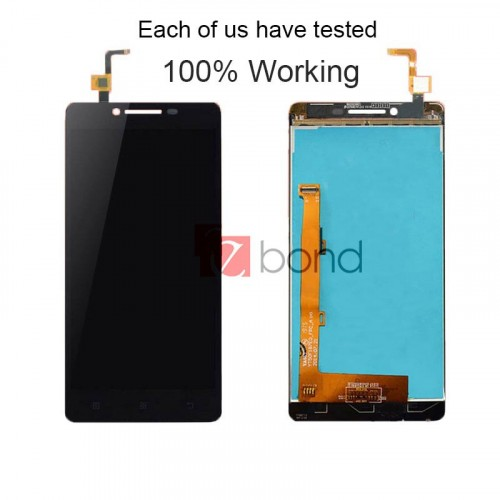 Black TFT 1280x720 LCD For LENOVO A6000 Display with Touch Screen Digitizer Assembly and Free Tools