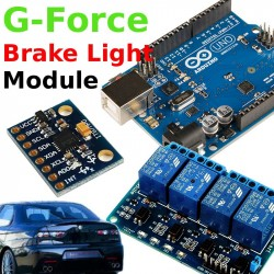 G-Force Brake Light Flasher Module