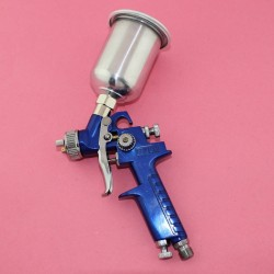 Air Paint Spray Gun HVLP Gravity Feed 150CC CUP