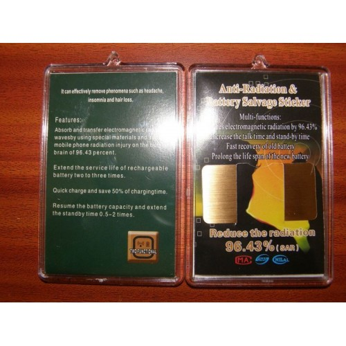 24k Gold Mobile Phone Anti Radiation Sticker