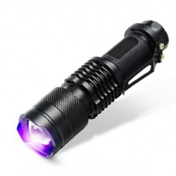 CREE LED UV Flashlight SK68 Purple Violet Light UV 395nm