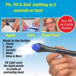 UV Light Welding Compound Glue 5 Sec Fix