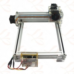 Mini Laser Engraving Cutter Picture CNC Printer Machine 500mW 20*17CM