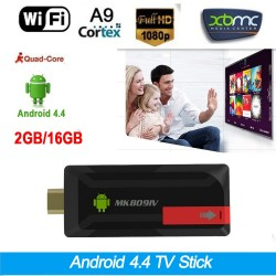 Mini Android TV Stick Version 4.4 RK3188T Quad-Core CPU