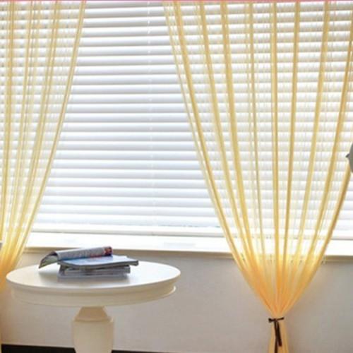 Door Windows Yarn String Curtain