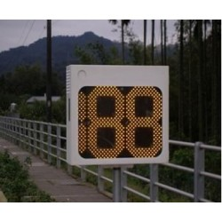 LED Lamp Outdoor Driver Sign Traffic Radar Speed Feedback