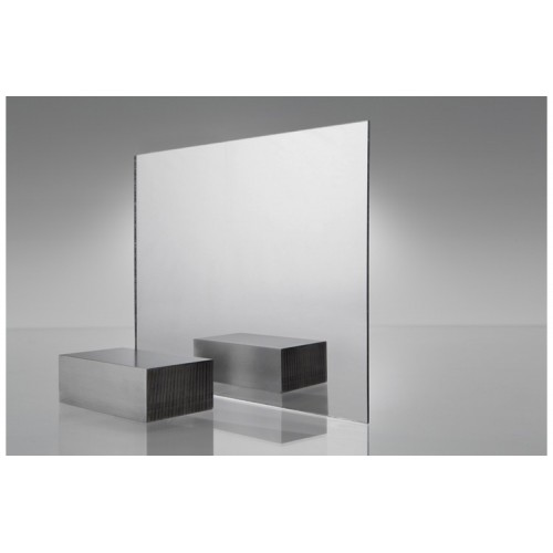 Acrylic (PMMA) Plexiglass One-Sided Mirror Clear 0000