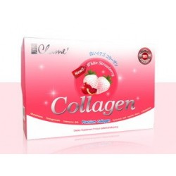 Chame Collagen White Strawberry 35000mg