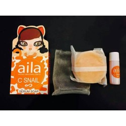 Aila C Snail Serum Soap