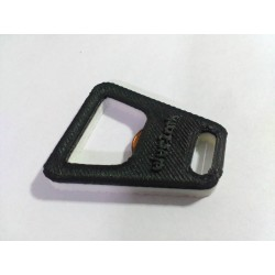 Bottle opener with your custom text