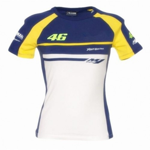 Offical 2016 New MOTOGP Valen Rossi VR46 T Shirt Women.