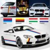 Car Styling Stickers Decal Flag Strip German France Italy 1M