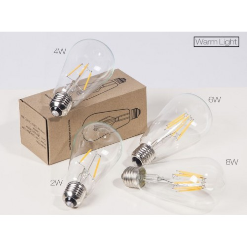 Retro Edison Filament LED Light Bulbs E27