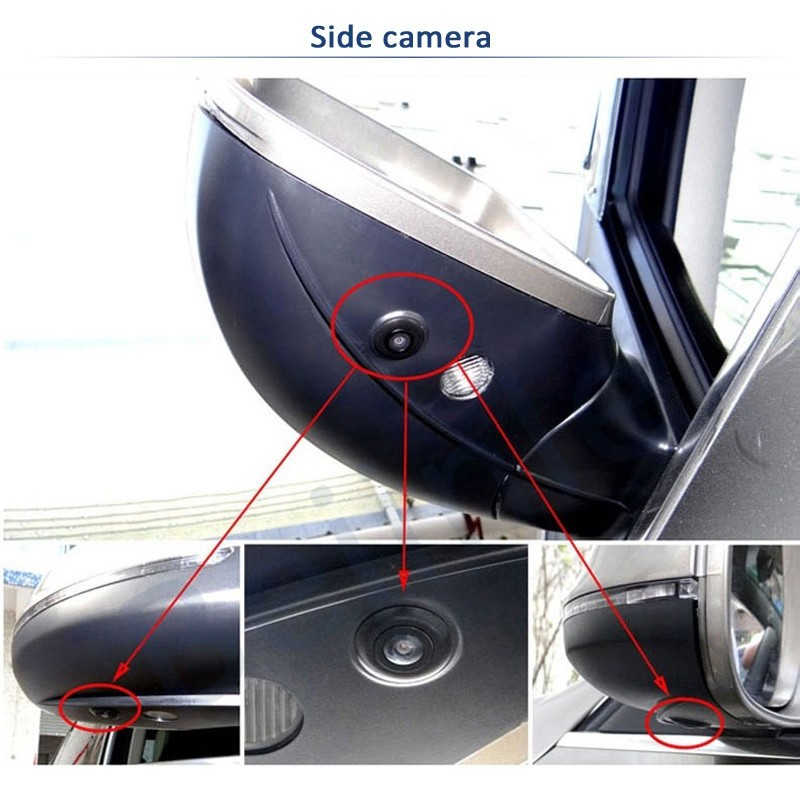 360 Degree Bird Eye View Car Panoramic Parking System With Dvr